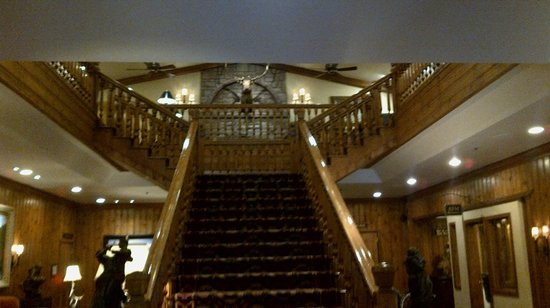 The Wort Hotel: Reception Stairs