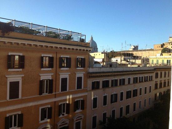 Amalia Hotel: Blick Vom Zimmer im 5.Stock