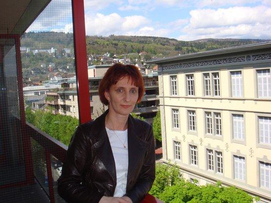 Mercure Plaza Biel: На балконе