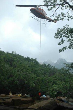 Goyang, South Korea: 북한산성 행궁지 발굴조사 중