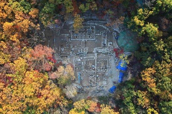 Goyang, South Korea: 북한산성 행궁지