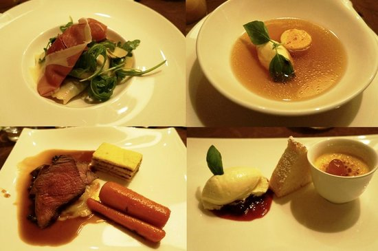 Der Waldhof: 4 course menu
