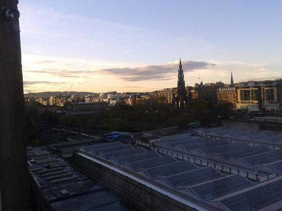 The Scotsman Hotel: view