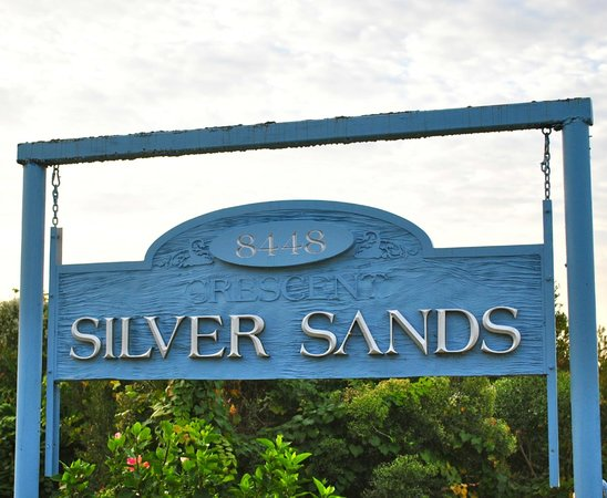 The Silver Sands Saint Augustine : Sign at entrance