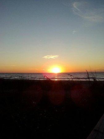 Sea Crest Oceanfront Resort : Myrtle Beach sunrise 110913