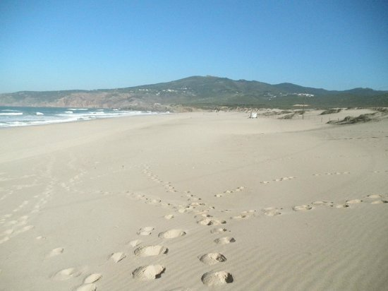 Fortaleza do Guincho: Beach to North