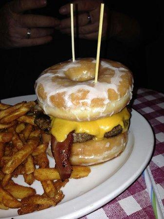 """Durty Gurt's: """"Shut the front door"""" burger"""