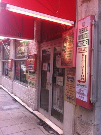 Hostel Faubourg Montmartre: Grande visiblité de l'auberge