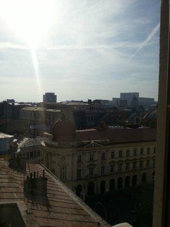 Rembrandt Hotel : La vista dalla camera al 7 piano