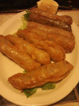 Taboon At The Valley: Cabbage Rolls