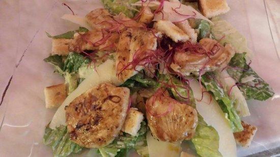 Titanic steak restaurant: Caesar salad
