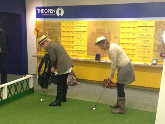 British Golf Museum: Practice makes perfect