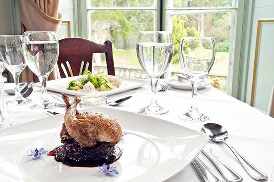 Dinner at Markree Castle
