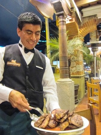 Churrasco Centroamericano: Would you like steak, or steak for dinner?