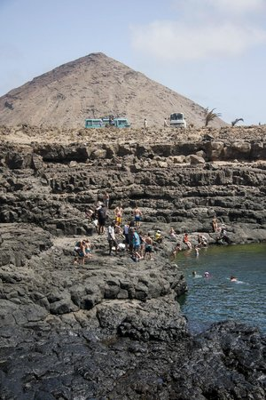 Cabo Verde, MG: The natural lake in Sal Island