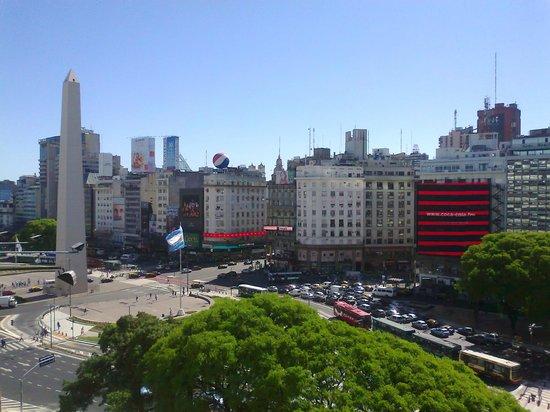 Bristol Hotel Buenos Aires: Vista desde el séptimo piso