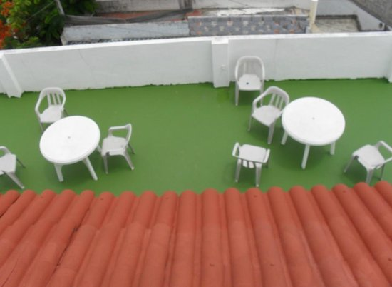 Hotel Castro: Balcony
