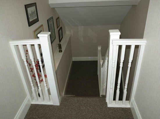 Hideaway at Herrington Hill: The stairs