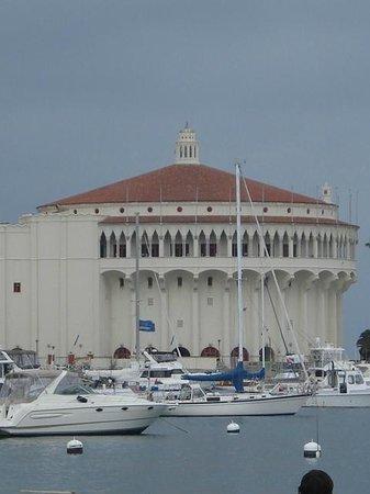 Catalina Island Casino Ballroom: view from the local beach