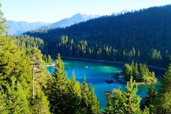 Sunstar Alpine Hotel Flims : lake cauma - 15 walk convenient walk from hotel