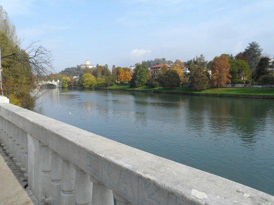 Parco del Valentino : The river Po