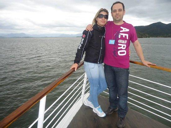 Barco Principe Joinville: Paraíso