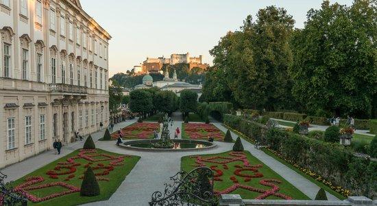 Hotel Villa Carlton: Сады Мирабель и крепость Капуцинов