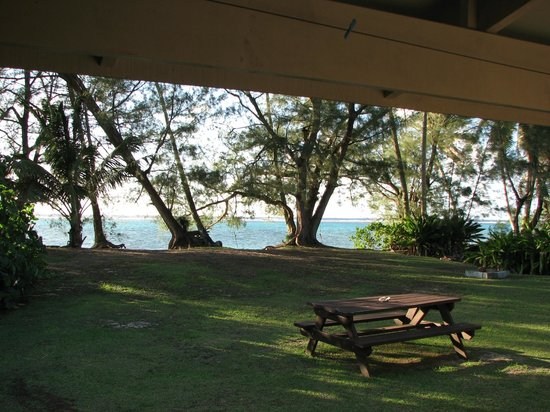Captain James Retreat: view from the verandah