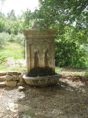 La Bastide d'Angelique : Notre fontaine