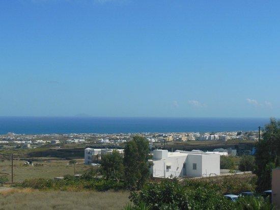 Antonia Hotel Santorini: panorama dal balcone