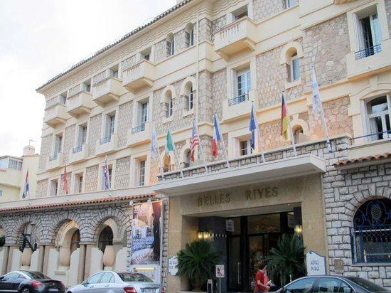 Hotel Belles Rives : The outside