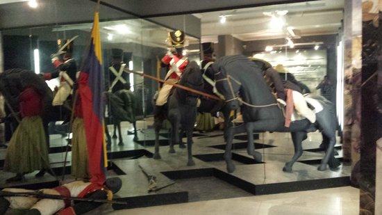 Museo Bolivariano : Dentro do museu de Simon bolivar