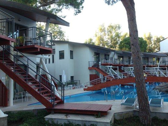Cornelia De Luxe Resort: Junior suite balcony view