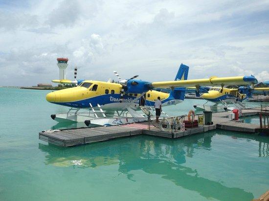 VOI Maayafushi Resort : Départ pour Maayafushi