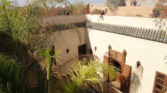 Riad Shalimar : View of the 1st floor