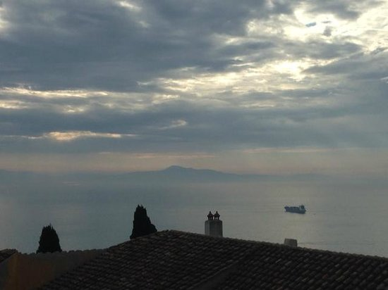 La Soffitta Sul Mare: Sunrise from the terrace