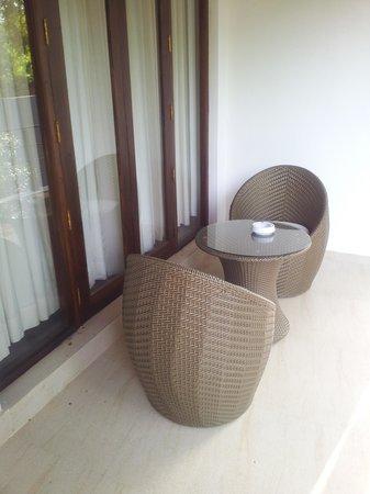 Hotel Alakamanda: Balcony