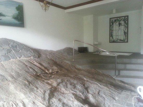 Earl's Regency : La roccia in camera e la vasca idromassaggio