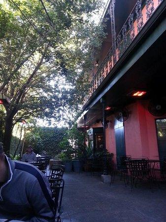 Crescent City Grill: Corner seat