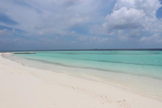 VOI Maayafushi Resort: Plage