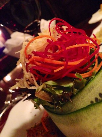 Bella Vita : Caesar Salad made with love.