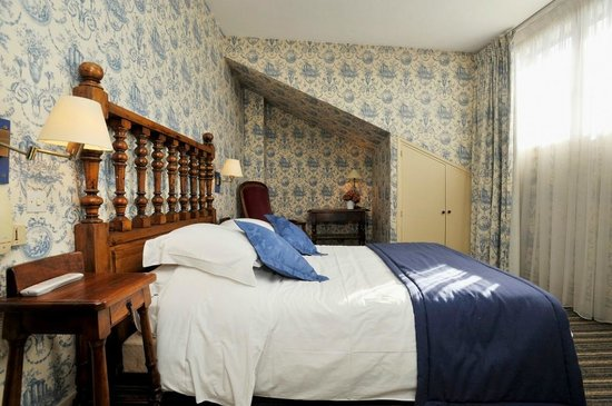 Hotel George Sand: Chambre bleue twin
