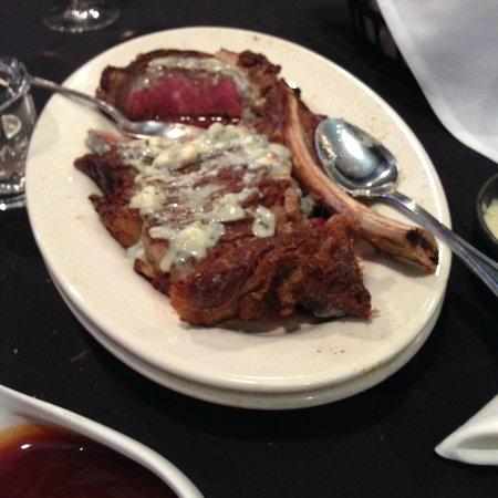 Union Prime Steak and Sushi: Medium, although looks rare,,,,,,and delicious