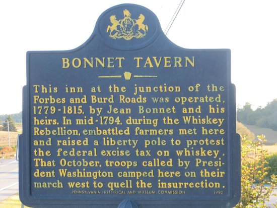 Jean Bonnet Tavern B & B: official highway marker