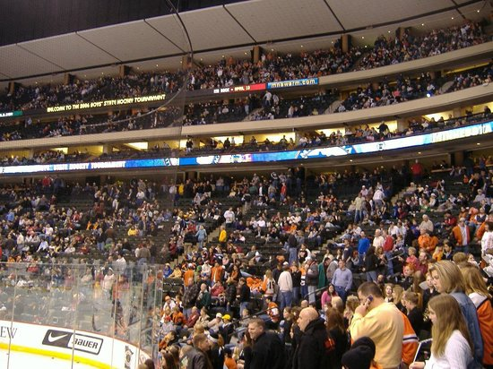 Xcel Energy Center: State Tourney Crowd