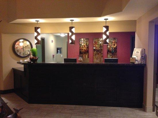 Best Western Mesquite Inn : reception desk area