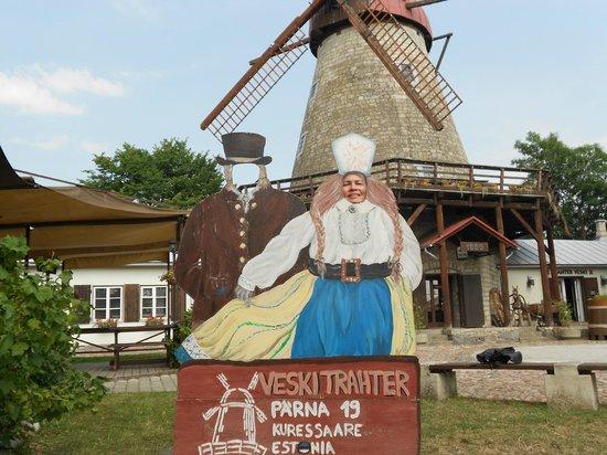 Saaremaa Veski: вид на таверну