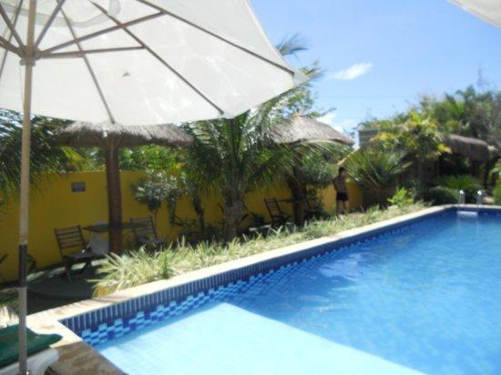 Pousada Costeira Da Barra : piscina limpa