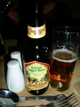 Marrakesh Restaurant: Casablanca beer