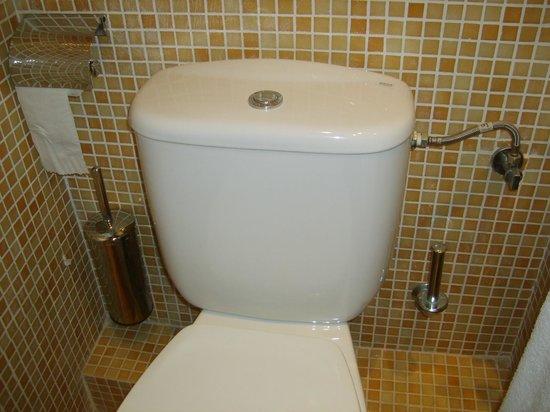 Mariano Apartamentos: Toilettenpapier sparsam gesät